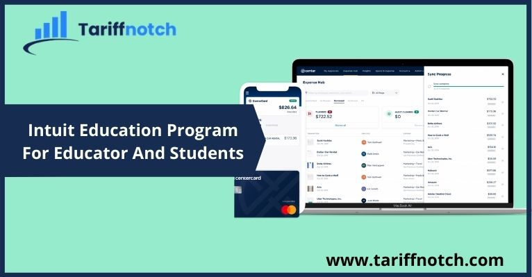 Intuit Education Program For Educator And Students