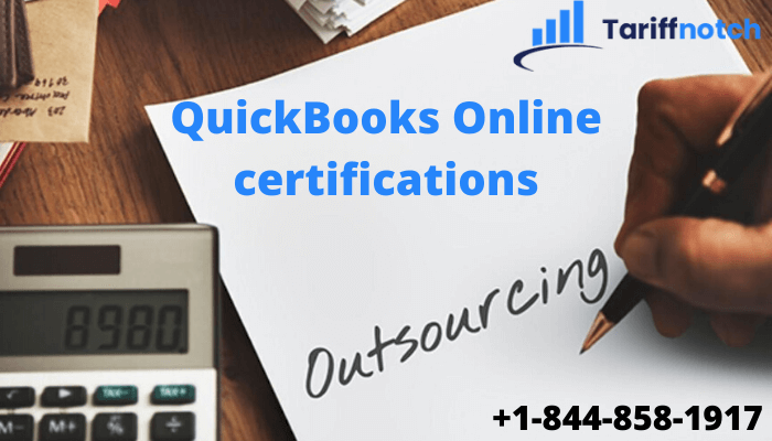 QuickBooks Online certifications
