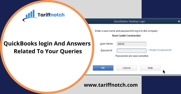 QuickBooks login And Answers Related To Your Queries