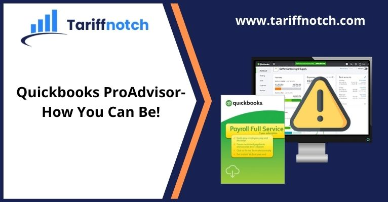 Quickbooks ProAdvisor-How You Can Be!