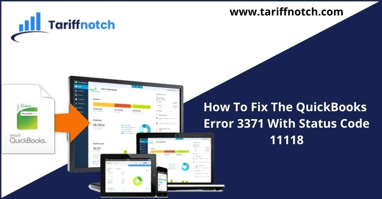 How To Fix The QuickBooks Error 3371 With Status Code 11118